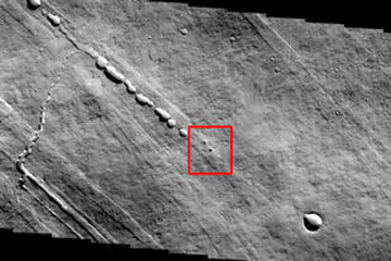 Mars : de la lave à la place de l'eau ?