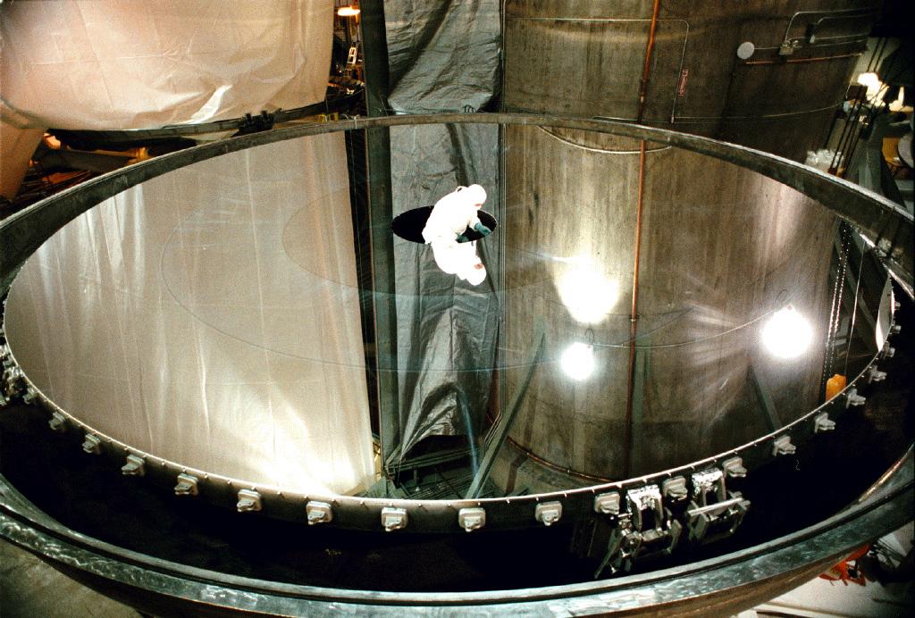 comment devenir astronome On miroir telescope