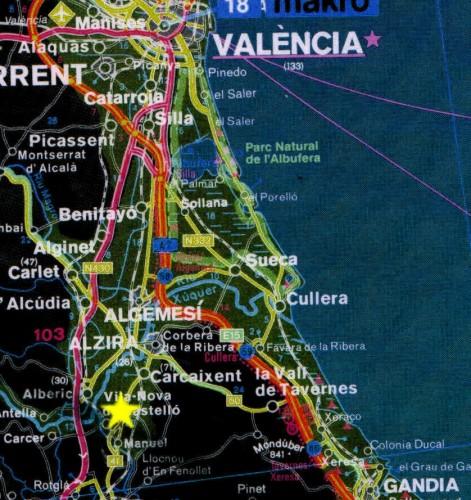 Gandia Spagna Cartina.Pag2