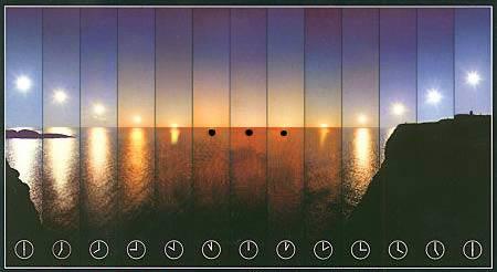 crépuscule nautique définition