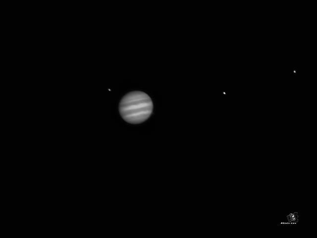 Jupiter et 3 de ses satellites 26 05 2017