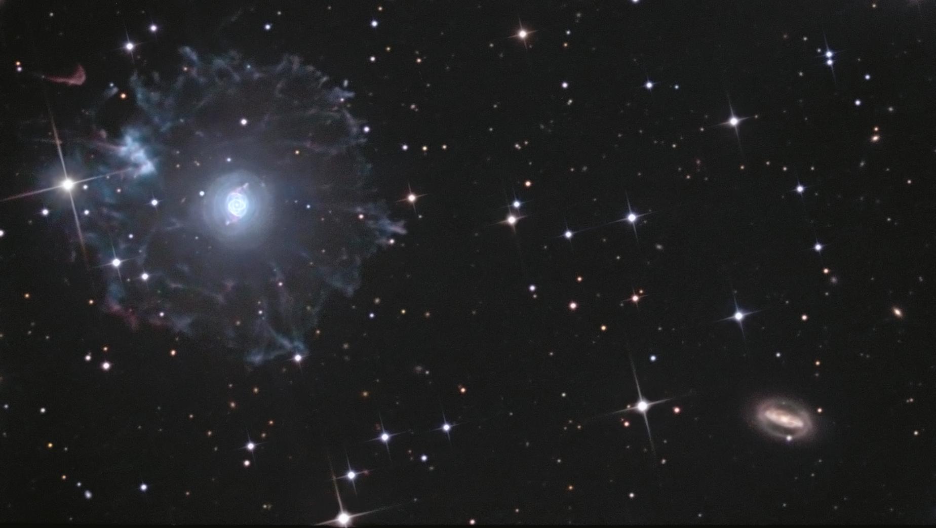 NGC 6543, la totale
