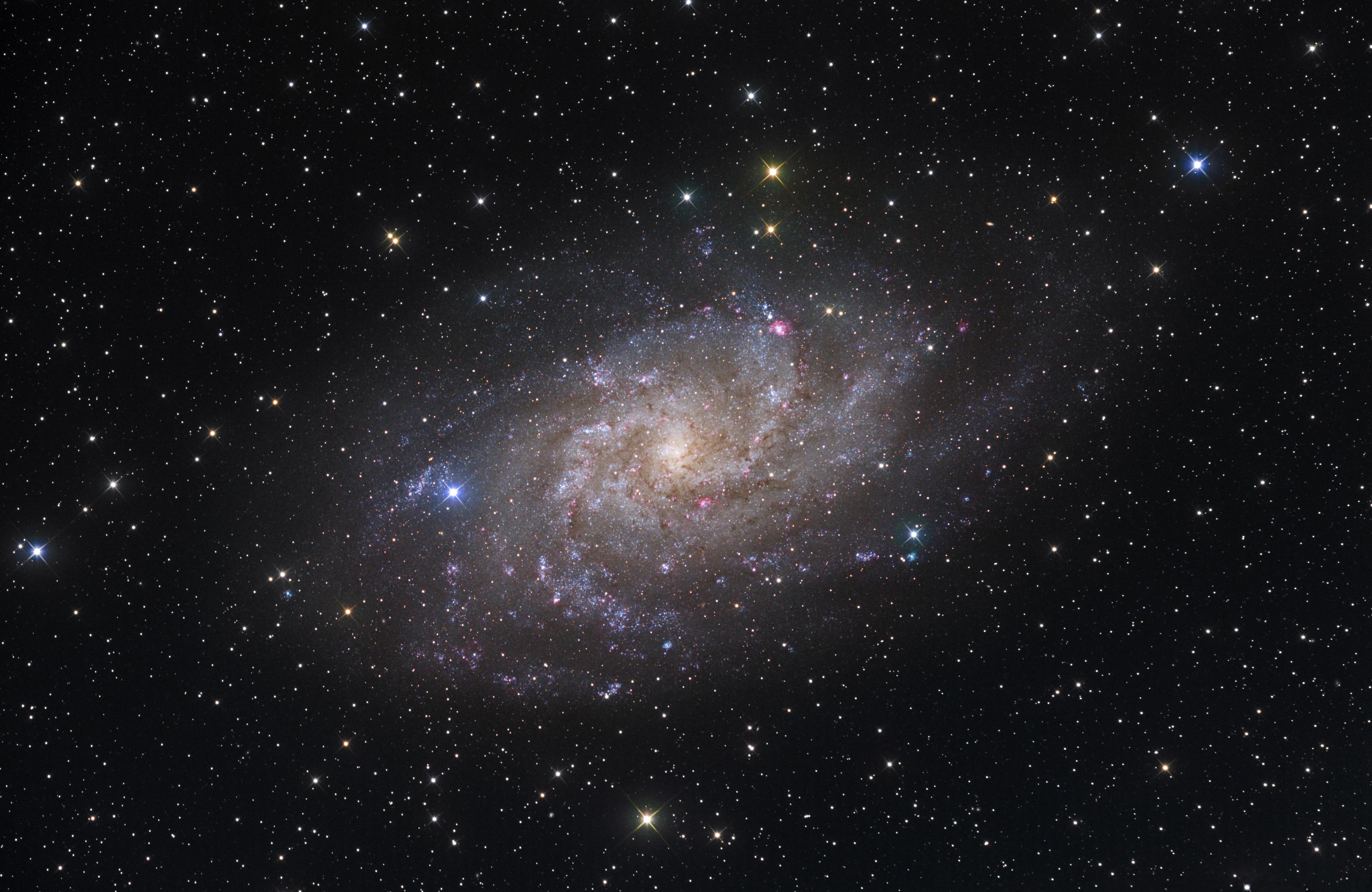 Galaxie du Triangle (M33)