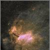 IC 4628 - Nébuleuse de la Crevette - HaRGB