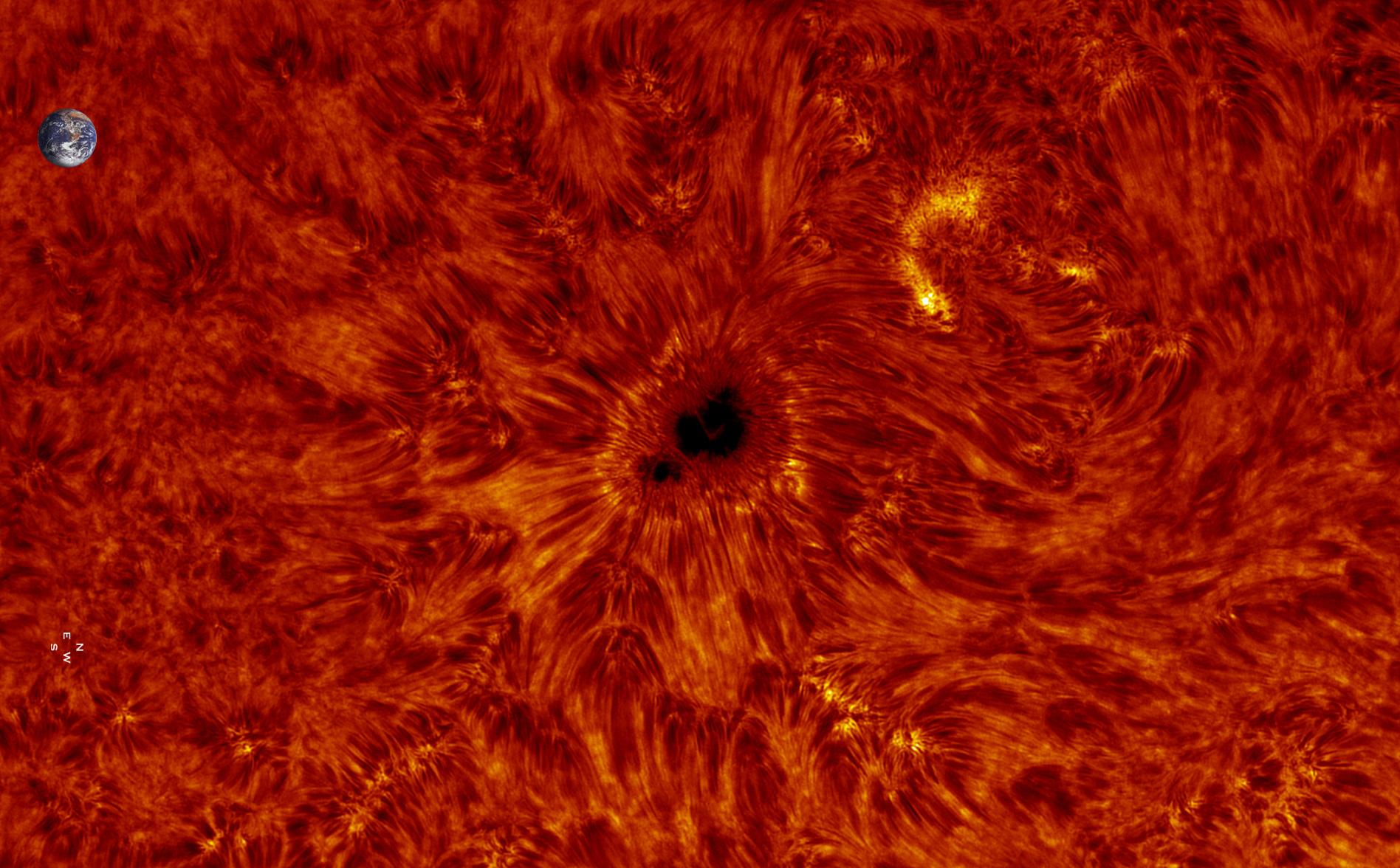 Soleil en H-alpha 01/10/2017