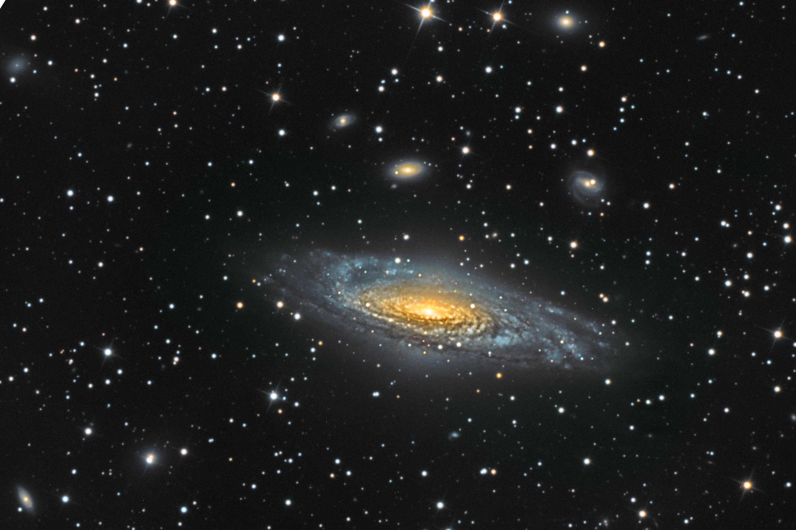NGC7331 Galaxie dans la constellation de pégase