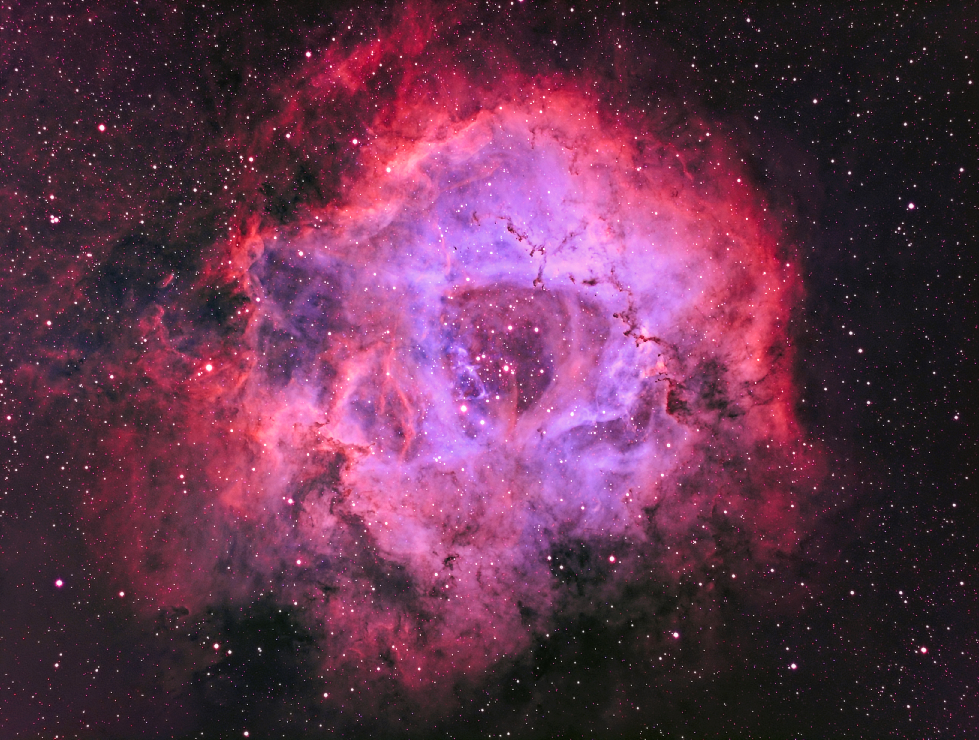 NGC2239 Traitement modifié