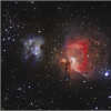 M 42/43 Nébuleuse d'Orion et Running Man