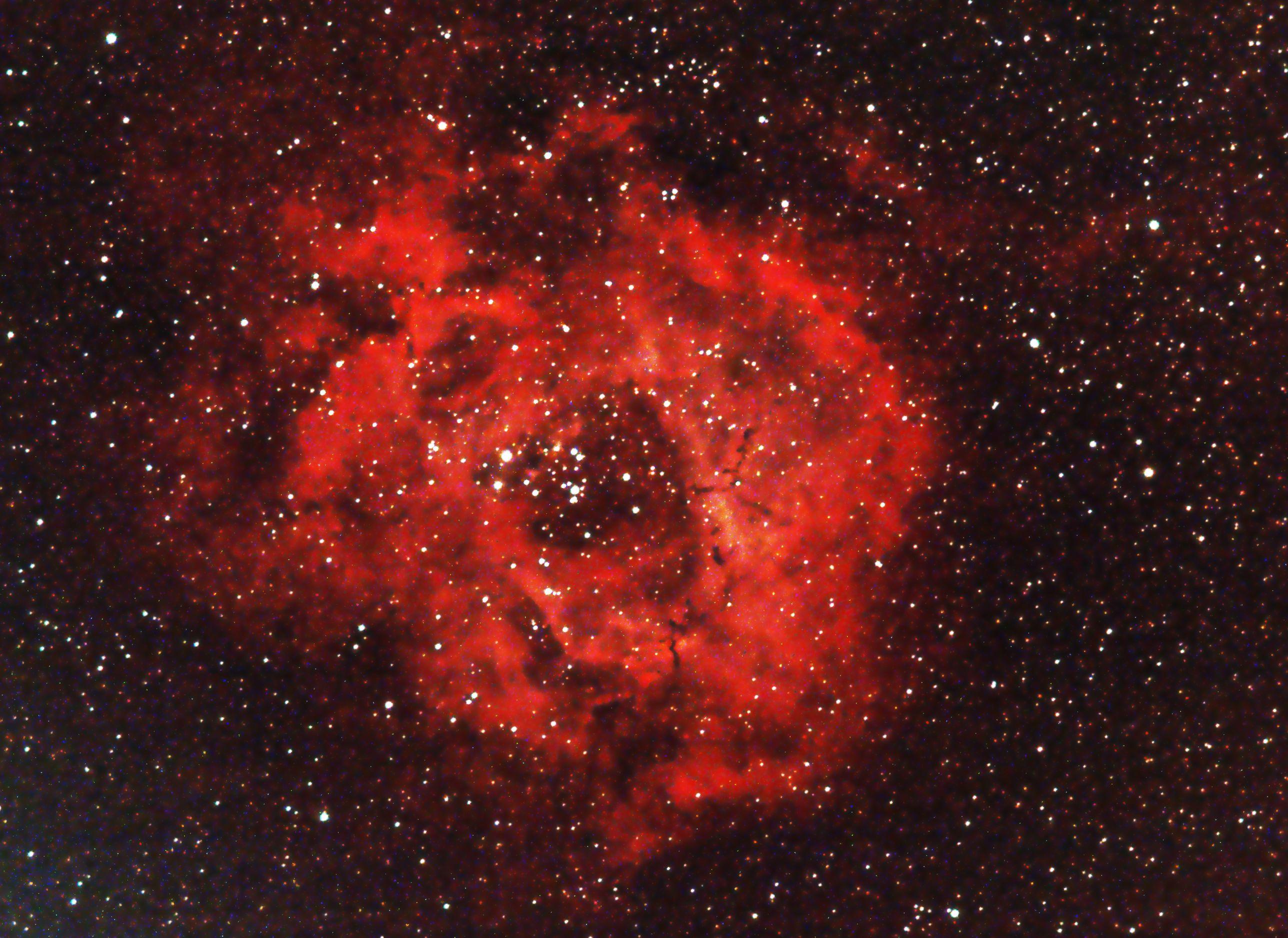 NGC2237 - Nébuleuse de la Rosette