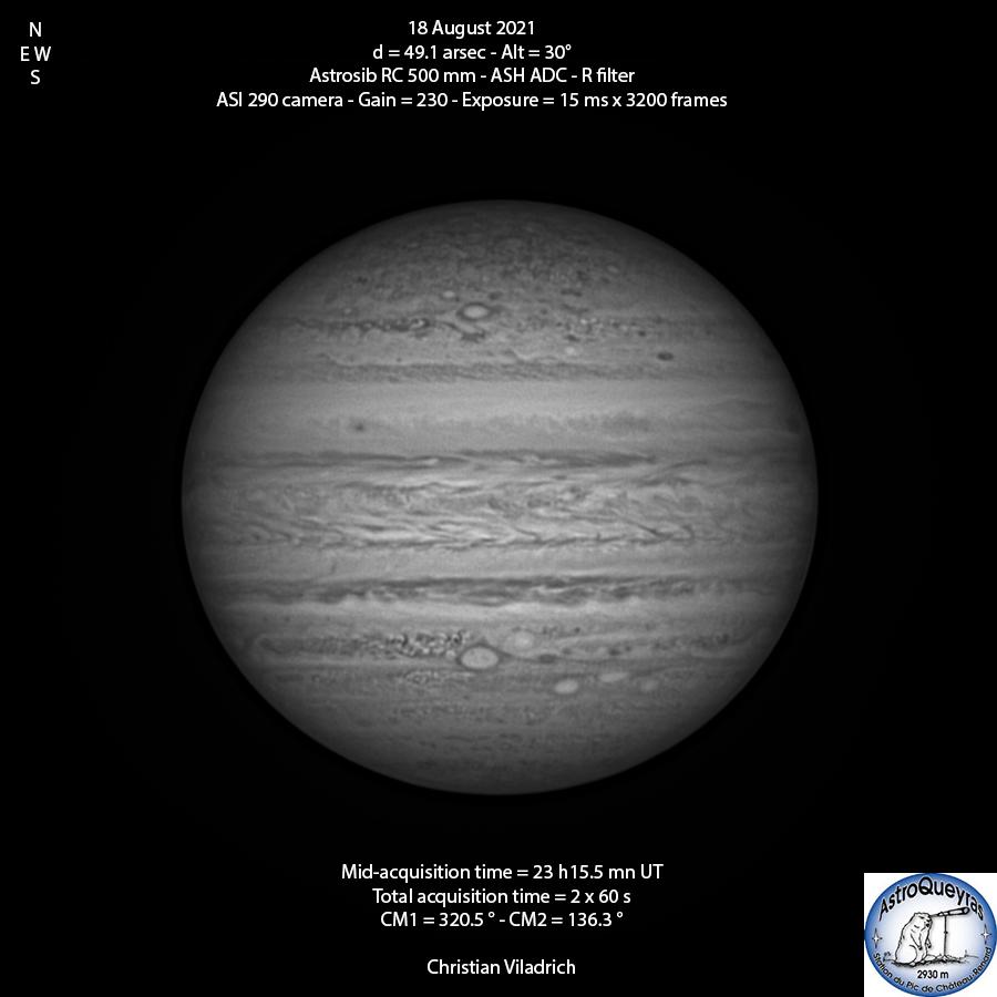Jupiter-18August2021-23h15UT-RC500-ASI29