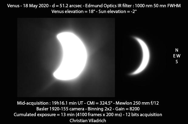 Venus-18May2020-19h16minUT-M250-Basler-I