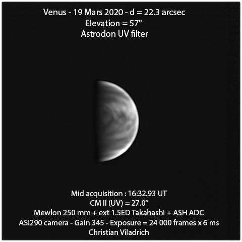 Venus-19March2020-16h32minUT-M250-ASI290