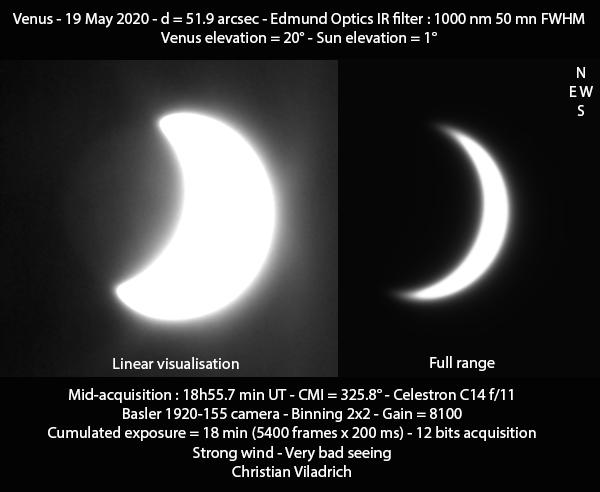 Venus-19May2020-18h55minUT-C14-B1920-IR1