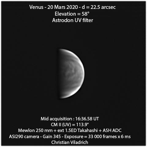 Venus-20March2020-16h36minUT-M250-ASI290