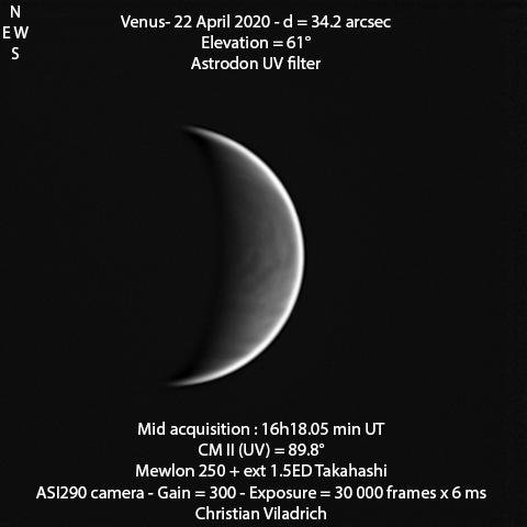 Venus-22April2020-16h18minUT-M250-ASI290